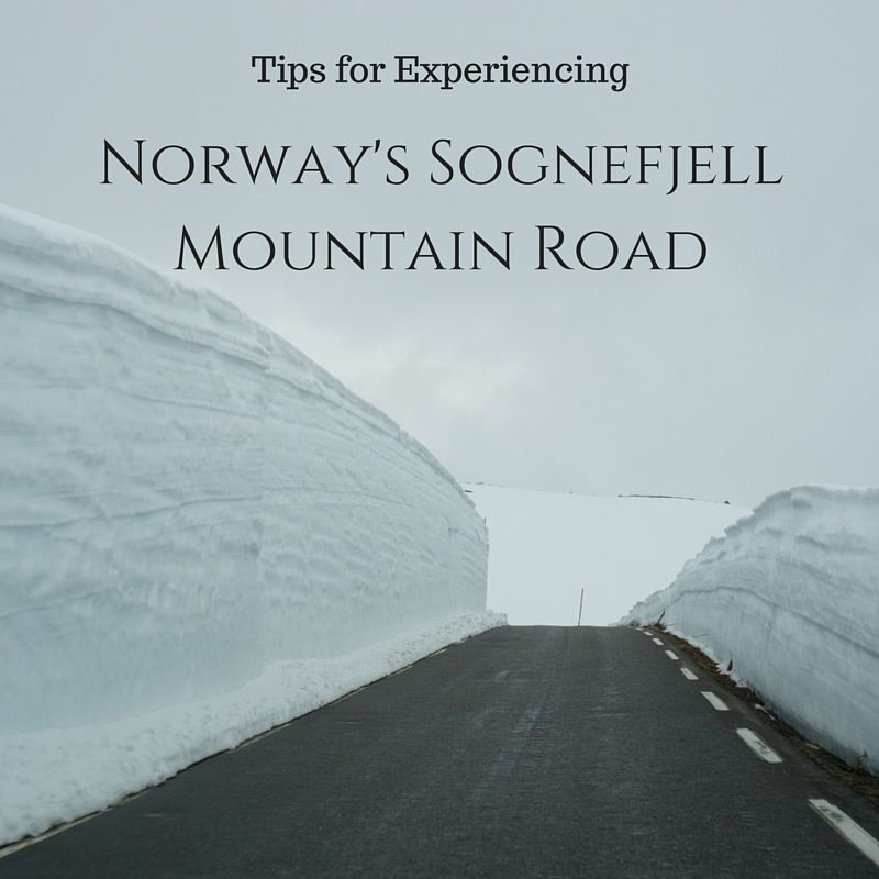 Driving Norway's Sognefjell Mountain Road   tipsforfamilytrips.com