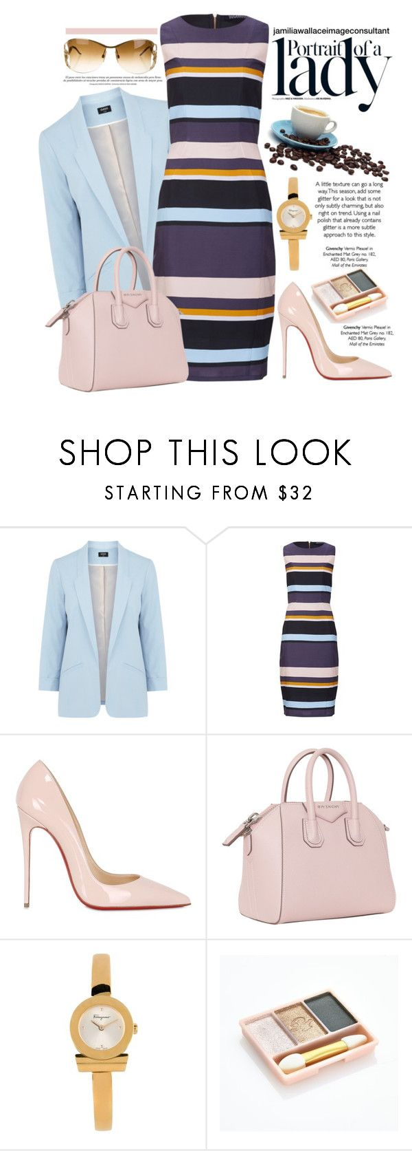 """""""Ideal Image"""" by jamilia-wallace ❤ liked on Polyvore featuring Oasis, Inez & Vinoodh, Sugarhill Boutique, Christian Louboutin, Givenchy, Salvatore Ferragamo, Paul & Joe and Roberto Cavalli"""