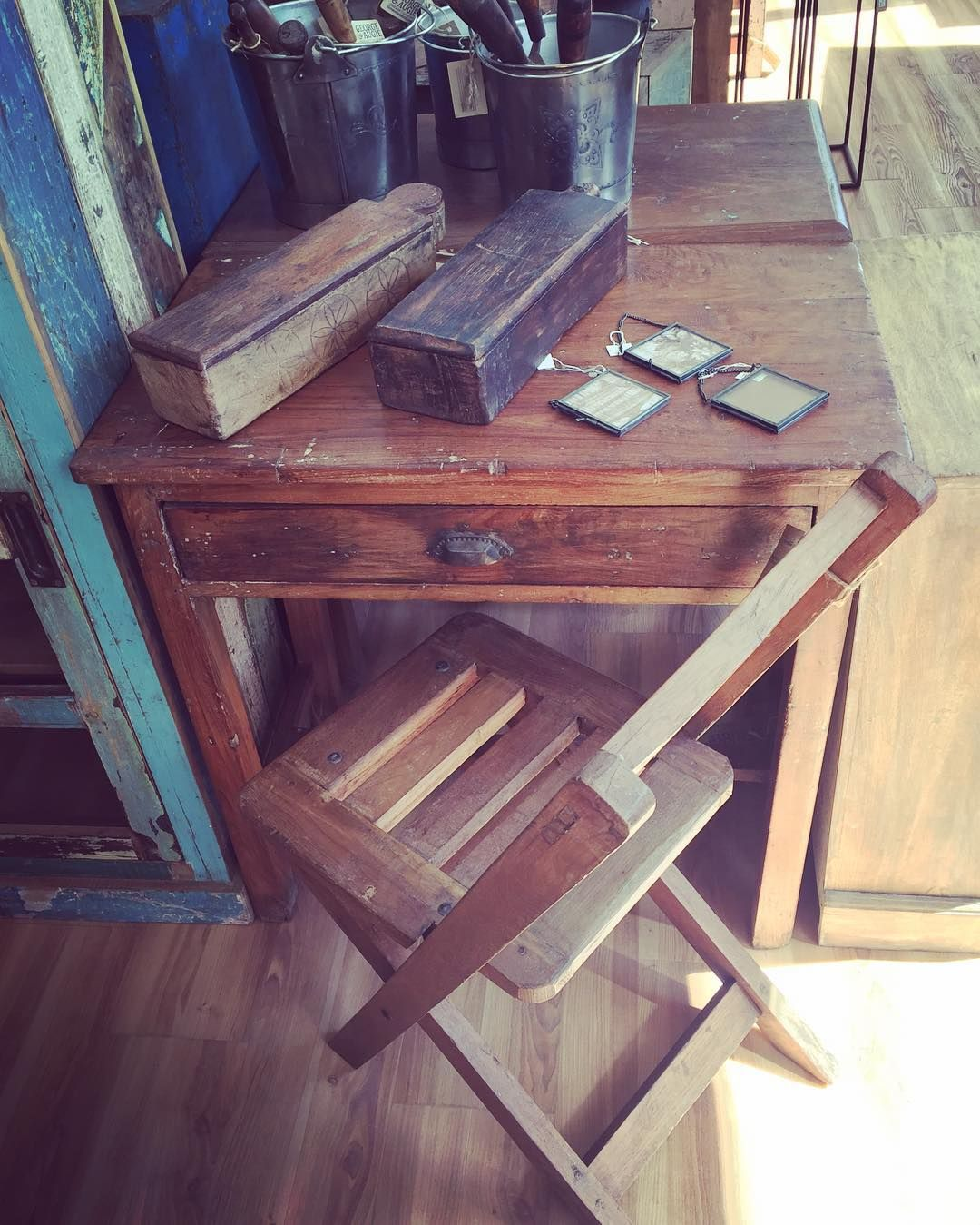 #reclaimed Wood #desk #chair #chaibox #picture #frame