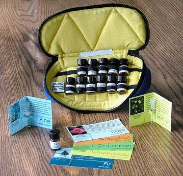 Essential Oil Sampler Gift - would love this!