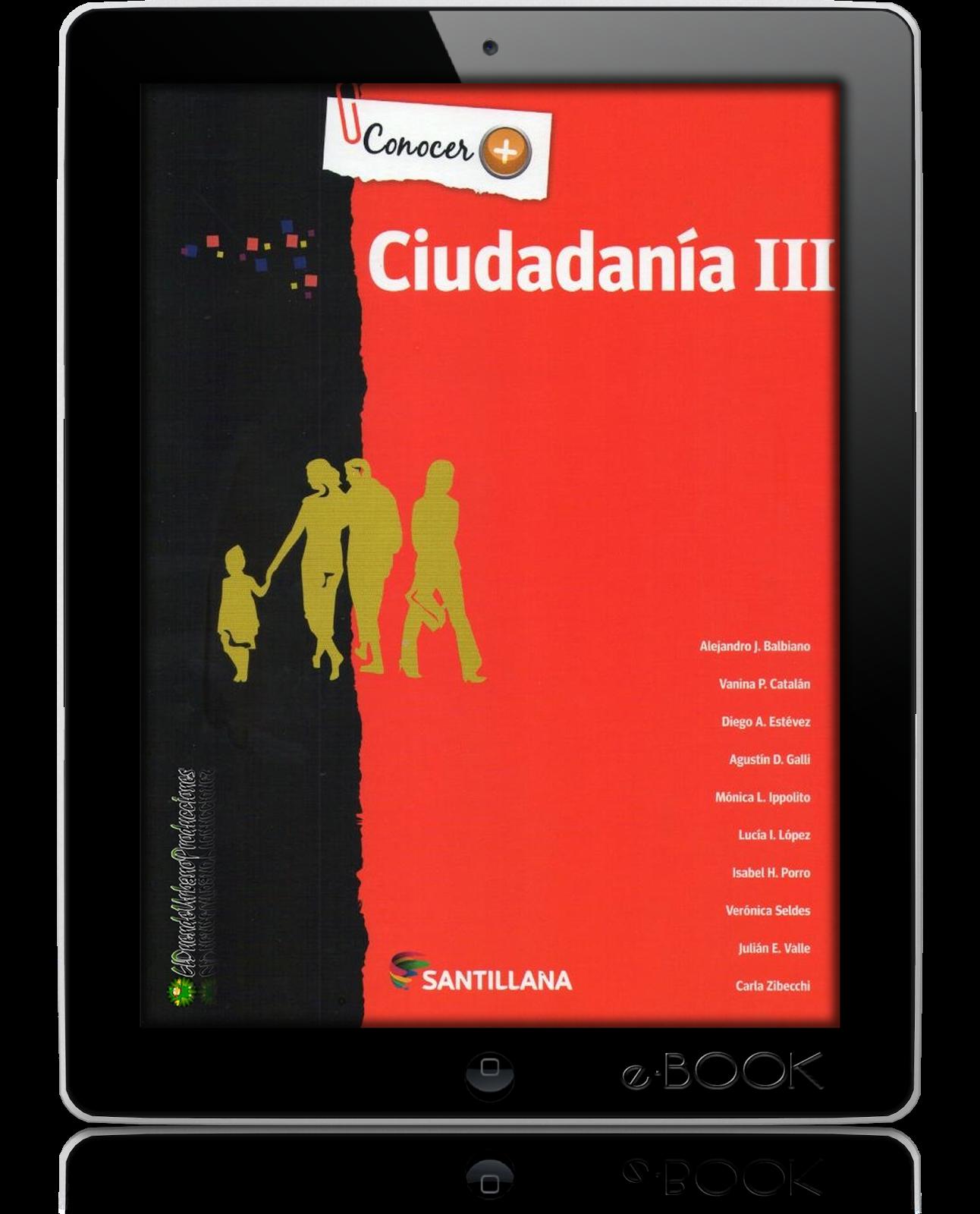 CIUDADANIA III | CONOCER+ | ED. SANTILLANA | LIBRO DIGITAL ...