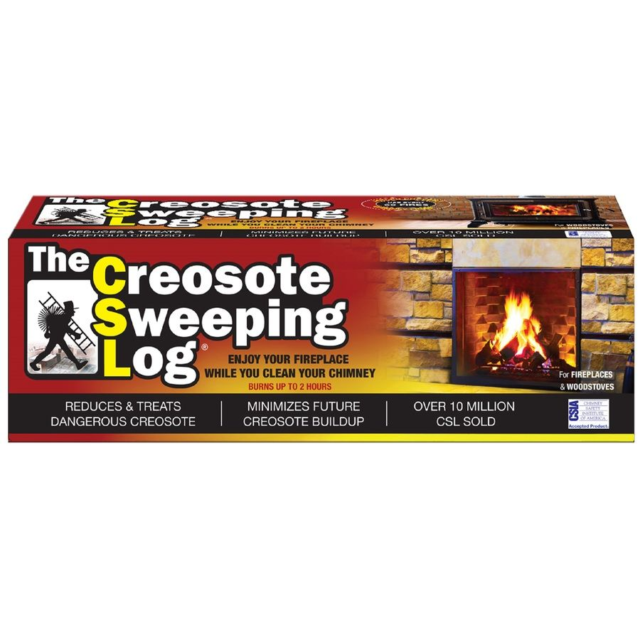 Imperial Creosote Sweeping Log Log Homes See On Tv Fireplace Accessories