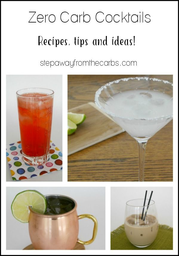 Zero Carb Cocktails Recipes Information And Top Tips Keto