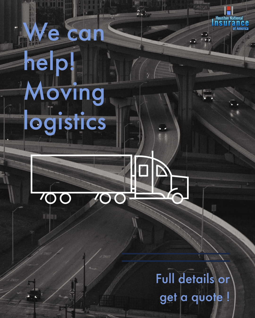 Do you need to move your logistics? truck commercial