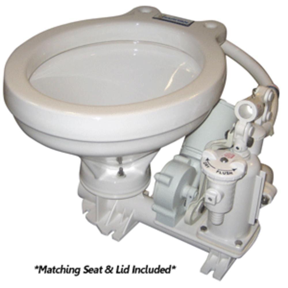 Raritan Standard Electric Toilet White Marine Size Bowl 12v Products Household Toilet Hi Boy