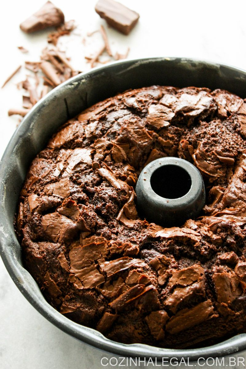 Bolo De Chocolate Simples Receita Com Imagens Receitas Bolo