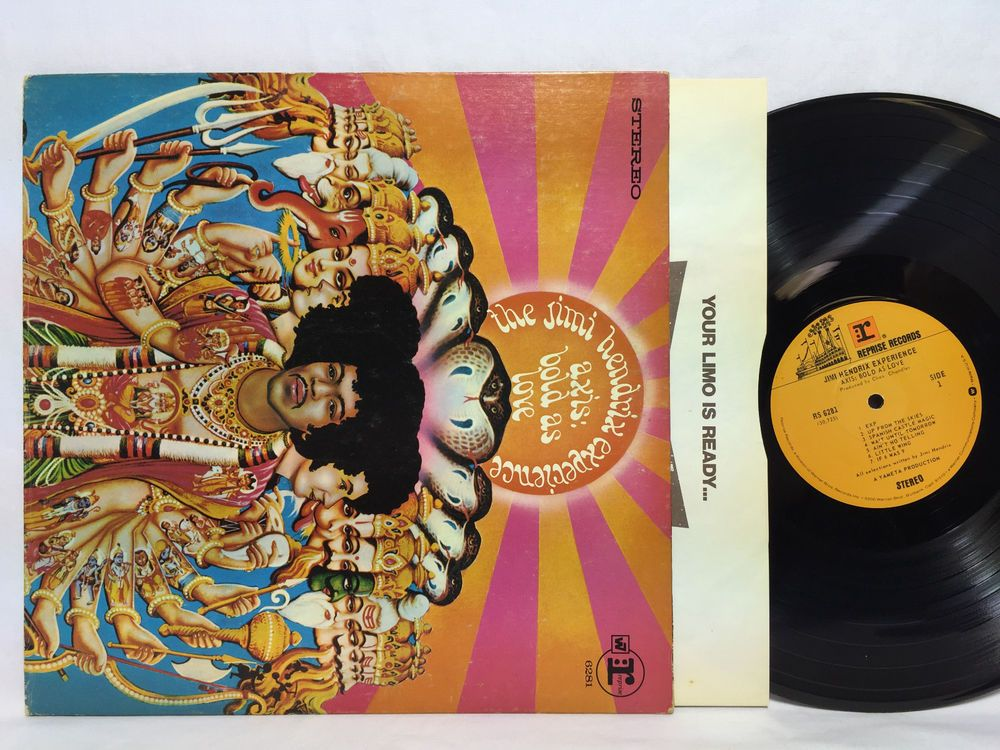 The Jimi Hendrix Experience Axis Bold As Love Rs 6281 Vinyl Record Lp Jimi Hendrix Experience Jimi Hendrix Vinyl Records