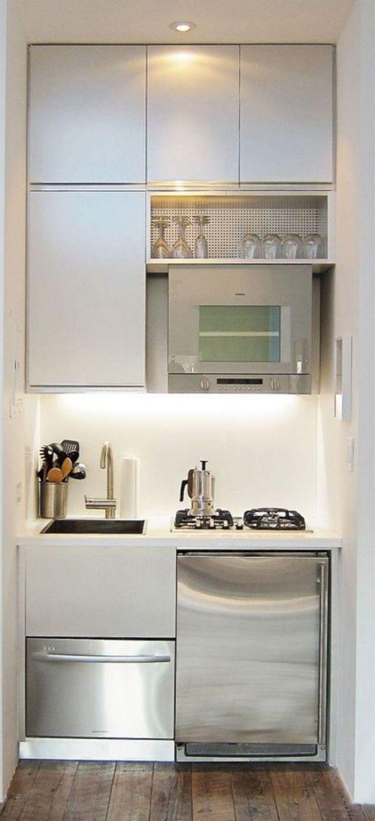 12+ Amazing Small Apartment Kitchen Design and Decor Ideas   Small ...