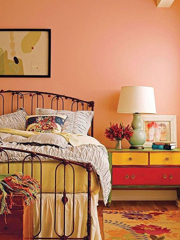Stunning Orange Bedroom Decorating Ideas For Modern House 10 Bedroom Vintage Bedroom Orange Peach Bedroom Modern orange bedroom ideas