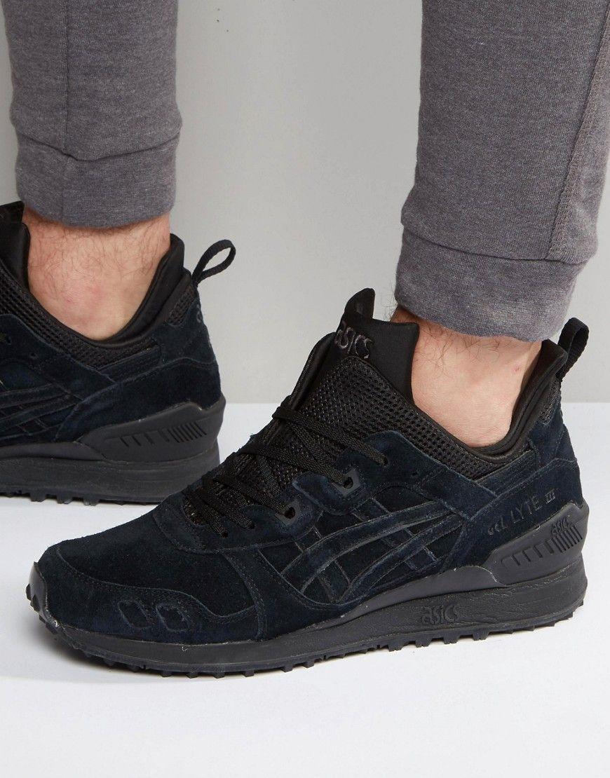 pretty nice 3996b f805a ASICS GEL-LYTE MT SNEAKERS IN BLACK - BLACK.  asics  shoes