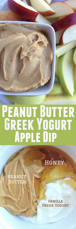 Peanut Butter Greek Yogurt Apple Dip Recipe Greek