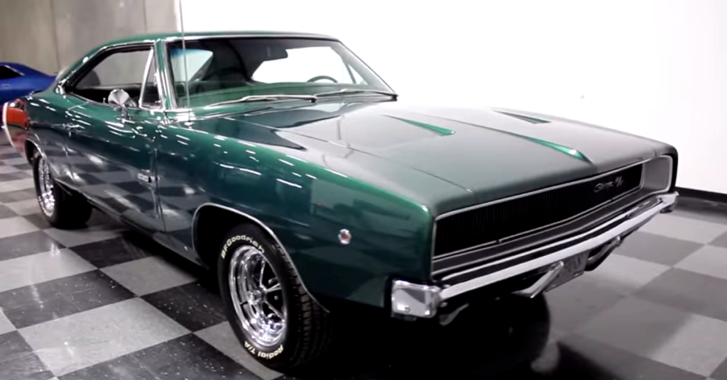 Read About This Nicely Restored 1968 Dodge Charger 426 HEMI ...
