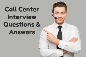 Typical Call Center Interview Questions | Interview ...