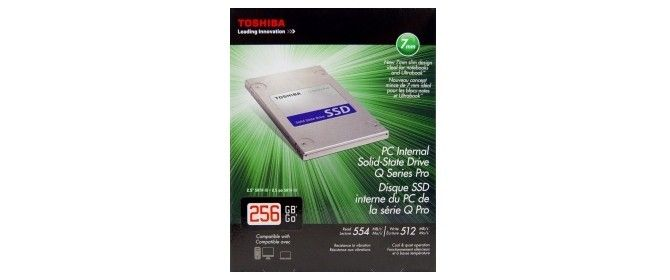 Toshiba Q Series Pro 256GB SSD Review - Offers Great Value