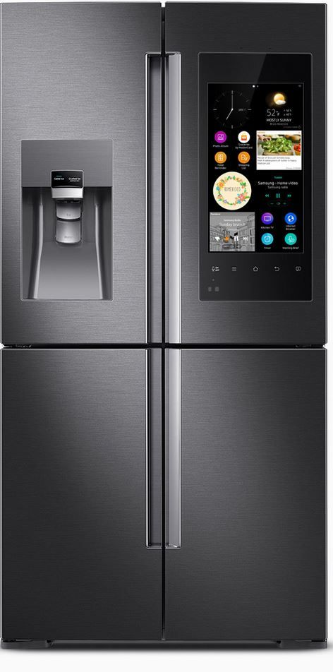 refrigerateur americain samsung hub family jpg janv 2016 cuisine pinterest liste mariage. Black Bedroom Furniture Sets. Home Design Ideas