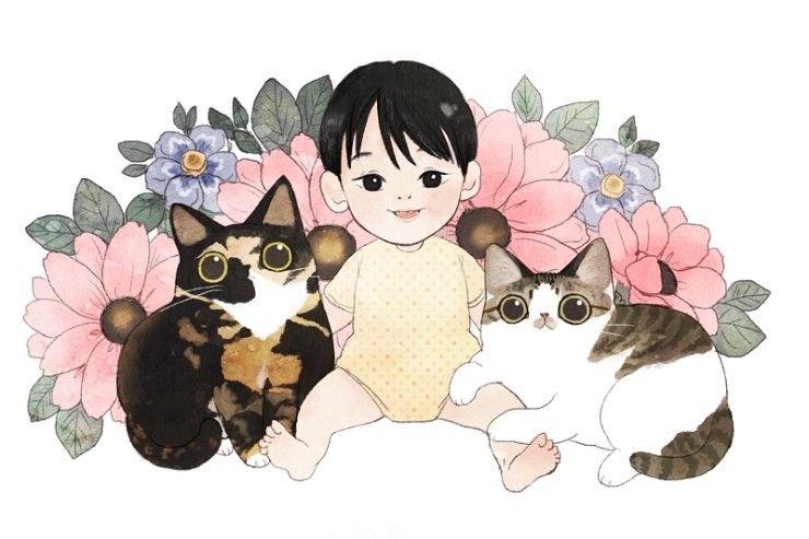 보들캣 일러스트모음 고양이 일러스트 네이버 블로그 귀여운 그림 고양이 그림 만화 일러스트레이션