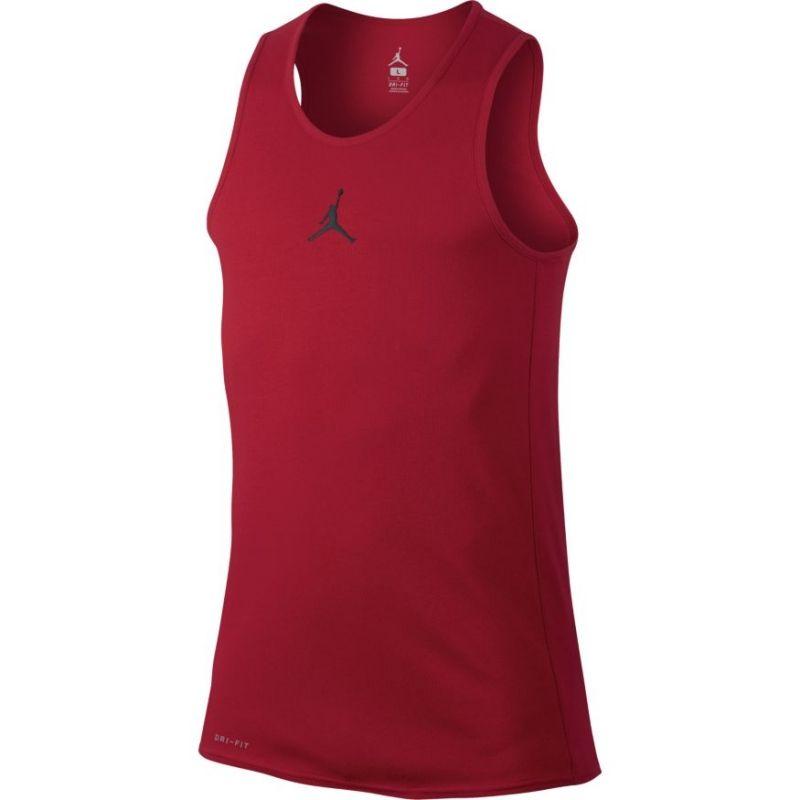 7f584013b3aec camiseta de tirantes de baloncesto jordan rise rojo 1
