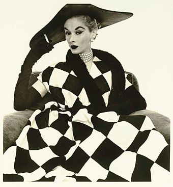 Harlequin Dress by Irving Penn
