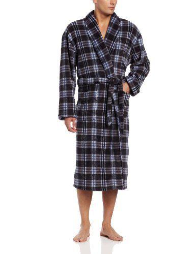 abebcebbbd Majestic International Men s Sweet Dreams Plush Fleece Fancy Robes ...