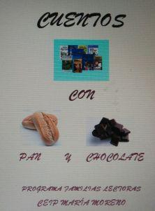"""Acabamos de comenzar la actividad """"Cuentos con Pan y Chocolate"""" en la biblioteca del centro"""