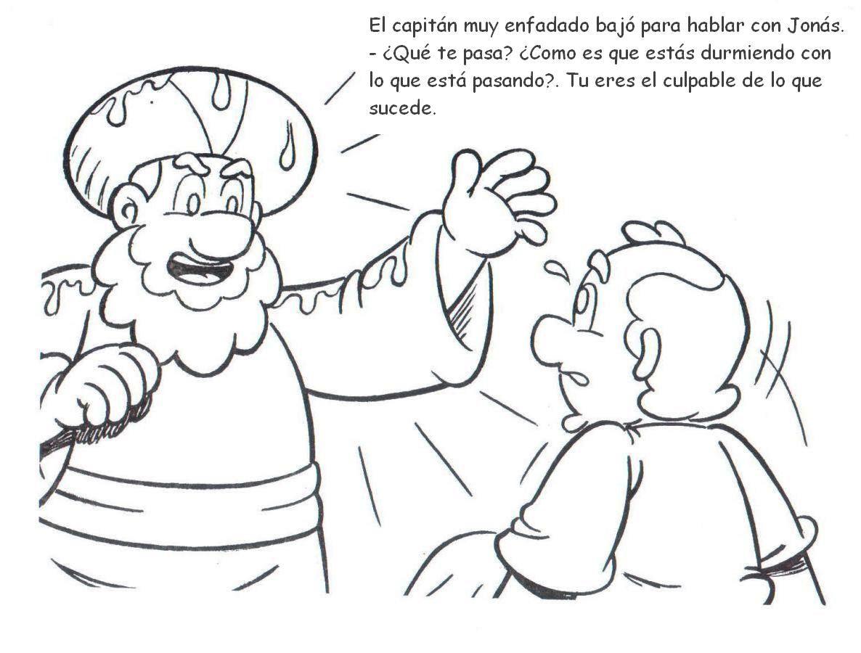 Para nuestros niños: La Historia de Jonás..! (Especial para colorear ...