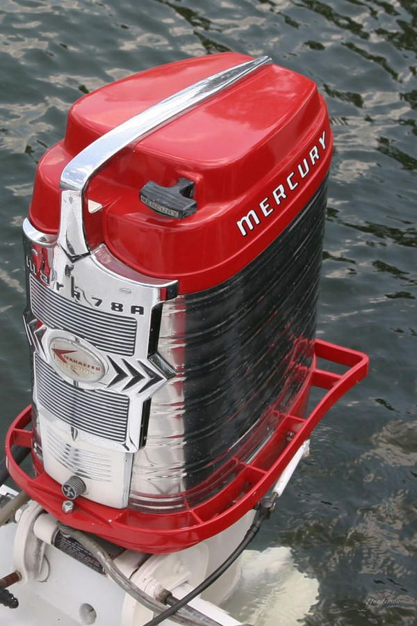 Full scale Mercury Mk78A Outboard | Tom's room | Outboard