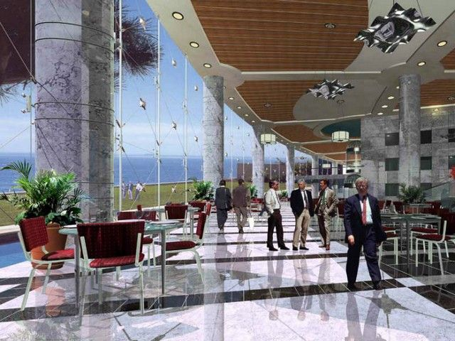 Best design and architect inspiration ideas by Saudi Diyar Consultants - Best hotel Interior Design ad trends. See more: http://www.brabbu.com/en/inspiration-and-ideas