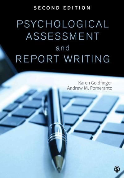Psychological Assessment And Report Writing Paperback  Report