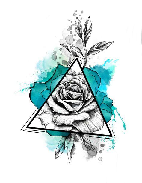 Tattoo ideas watercolor