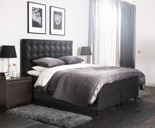 das neue vallavik boxspringbett buy pinterest. Black Bedroom Furniture Sets. Home Design Ideas