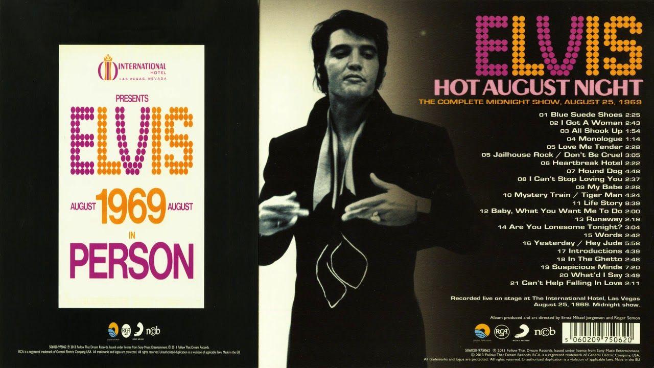 ELVIS PRESLEY - HOT AUGUST NIGHT FTD | ELVIS in 2019 | Elvis