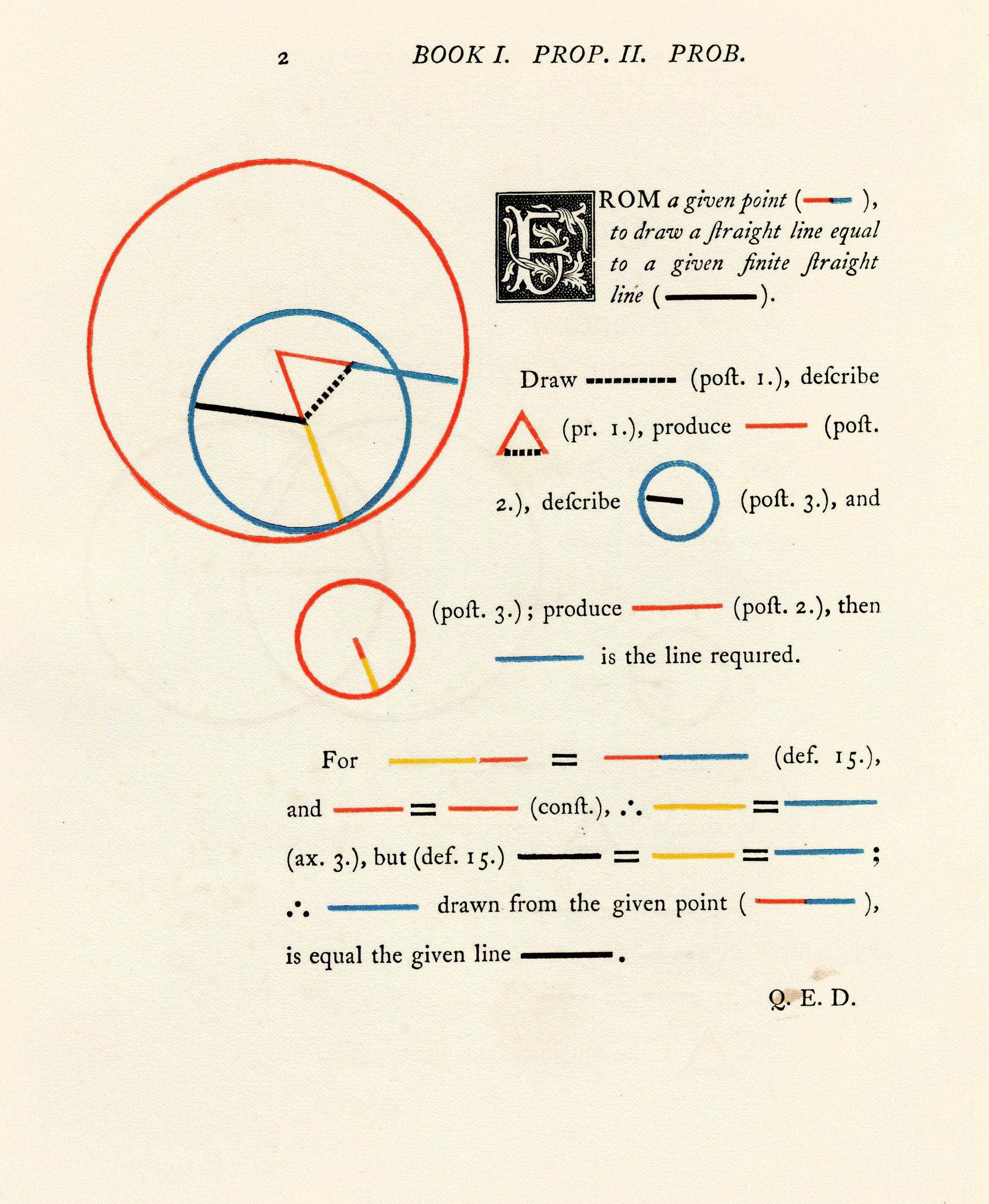 Va Byrne Euclid 03 Jpg 2260 2752 Euclidean Geometry Modest Proposal Euclid Elements [ 2752 x 2260 Pixel ]