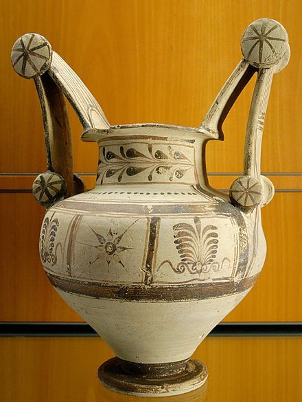Apulian vase painting - Trozzella, 4th century BC
