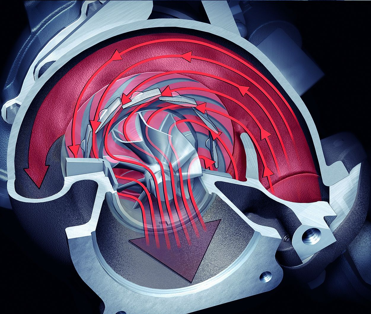 hight resolution of porsche 997 turbo autocar picture special variable vane turbocharger diagram