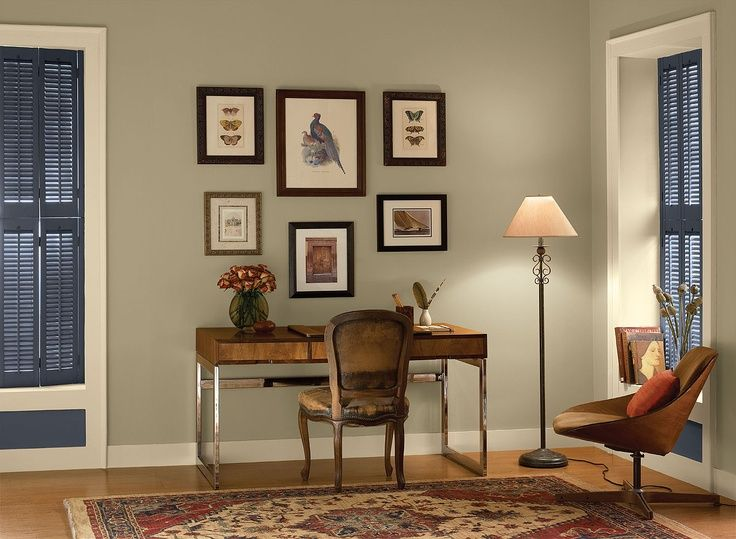 interior paint ideas and inspiration home office colors on best home office paint colors id=81898