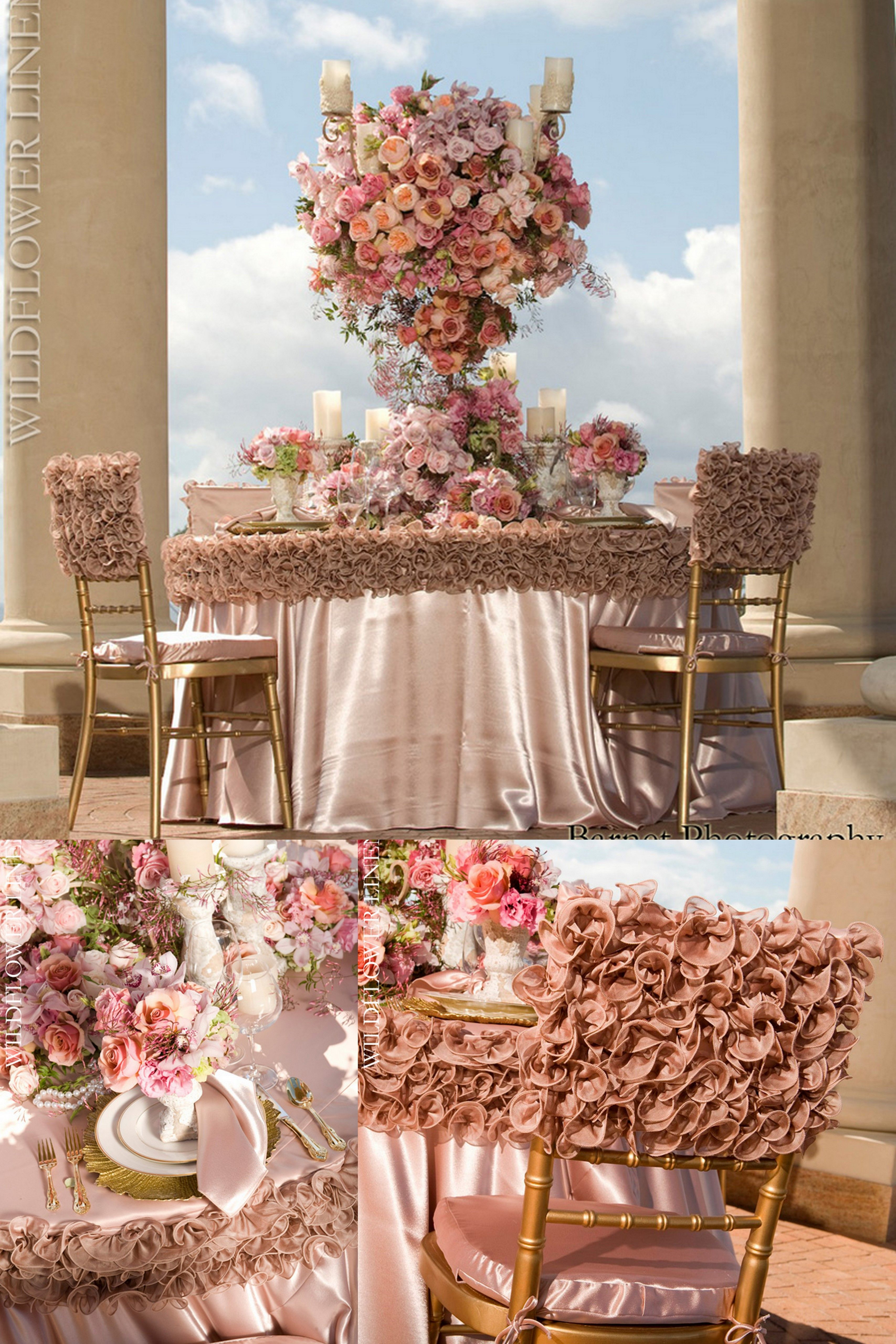 diy wedding chair covers pinterest retro white frilly pink linens the banding effect is a