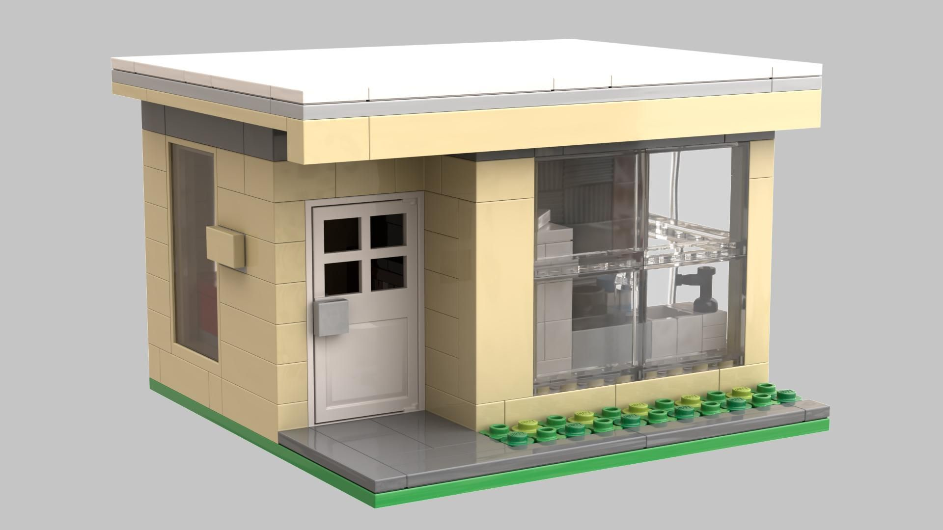 Lego Small Modern House Lego Lego House Small Modern Home Lego