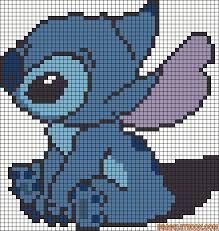 Resultat De Recherche D Images Pour Pixel Art Stitch Broderie Et Point De Croix Dessin Petit Carreau Point De Croix