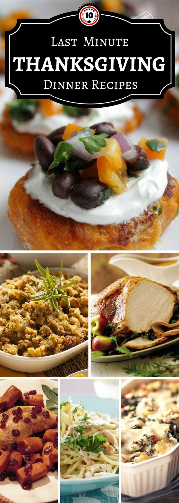 Top 10 Last Minute Thanksgiving Dinner Recipes - Top Inspired #thanksgivingdinnertable