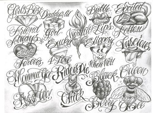Chicano Tattoo Designs Chicano Lettering Tattoo Design Drawings Sketch Tattoo Design