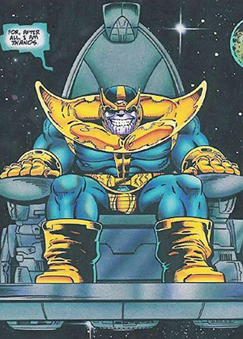 marvel comics avengers thanos