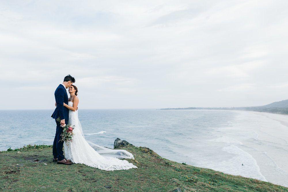 Industrial Chic Australian Wedding with Twinkle Light