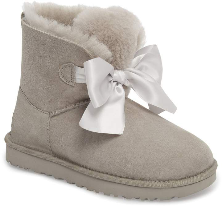 ea1474c2a96 Women's Ugg Mini Gita Bow Boot, Size 6 M - Brown in 2019 | Products ...