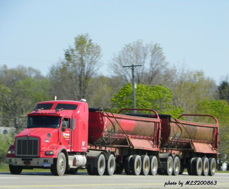 Kenworth T800 in Michigan Kenworth trucks
