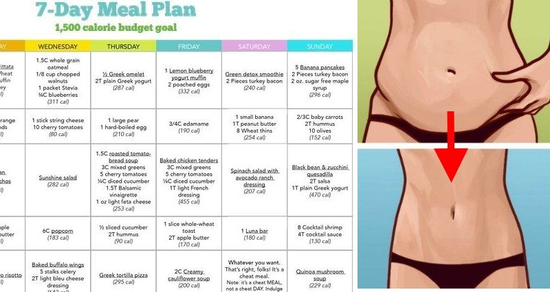 oatmeal diet menu for weight lose