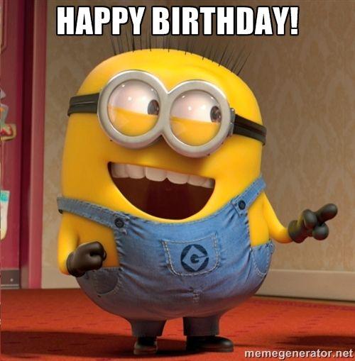 minions happy birthday cards