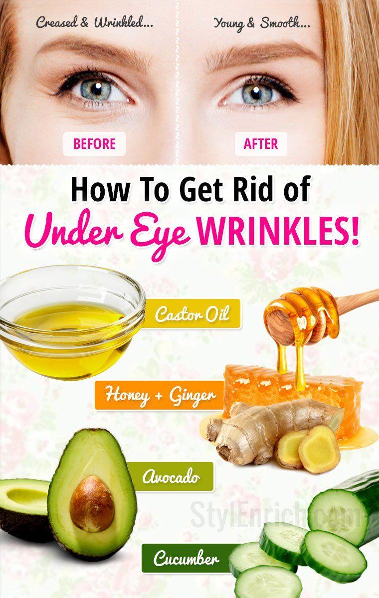 how to get rid of eye wrinkles