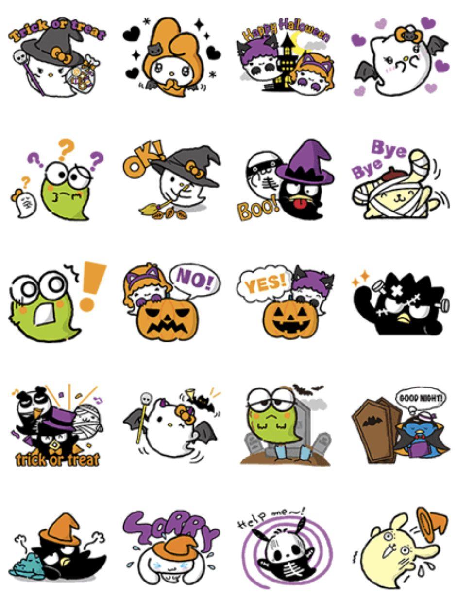 Sanrio Characters Halloween Hello kitty halloween