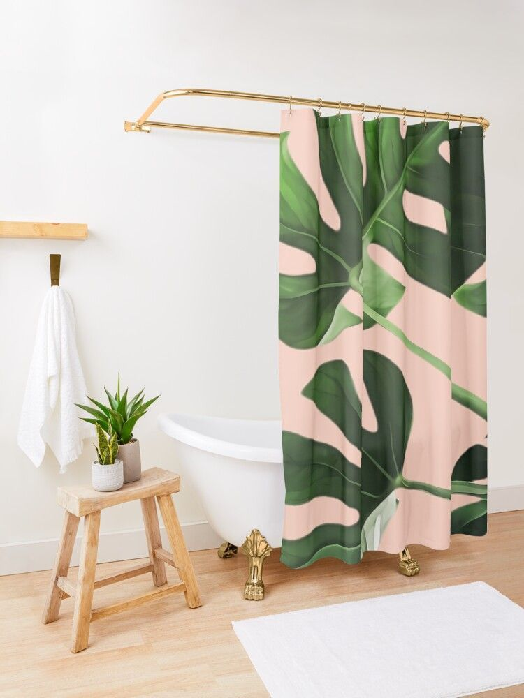 Diy Shower Curtain Ties Fresh Updated Boho Style Bathroom On A Budget Boho Style Bathroom Diy Shower Curtain Boho Shower Curtain