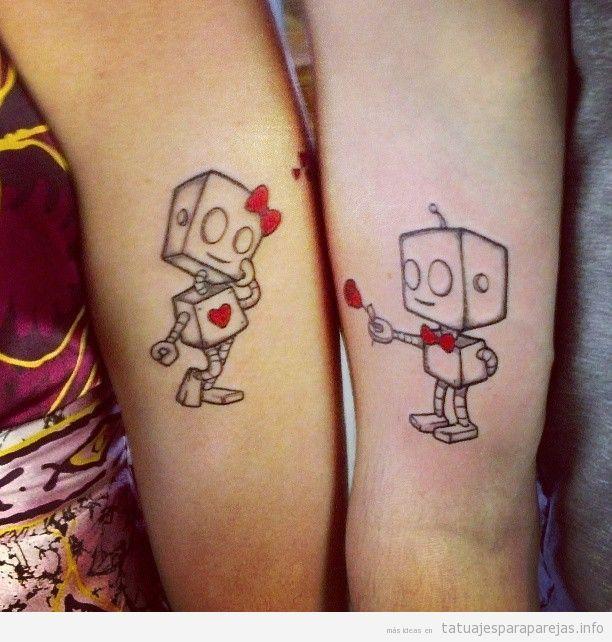 tatuajes para parejas - Buscar con Google ggg Pinterest - tatuajes para parejas